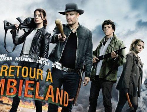 Affiche de cinéma Retour à Zombieland